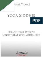 Yoga Siddhis Der Geheime Weg Bahar Yilmaz.de.Es