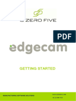 Edgecam Getting Started 2014 R1