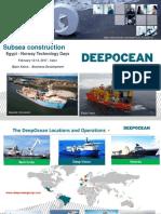 DeepOcean Egypt Norway technology days