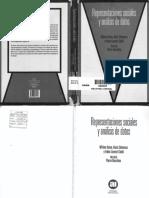 Representaciones sociales y análisis de datos