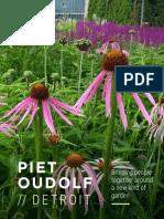Oudolf Garden Detroit brochure