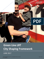 Green Line City Shaping Framework