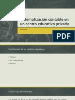 Sistematización Contable en Un Centro Educativo Privado