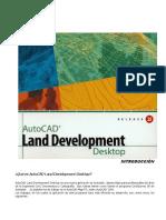 Manual Esp Autodesk Land Desktop 2i
