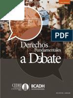 Derechos Fundamentales a Debate