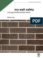 AU Masonry Wall Safety