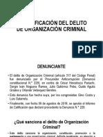 Presentación del informe de acusación del congresista Oracio Pacori contra los Cuellos Blancos del Puerto