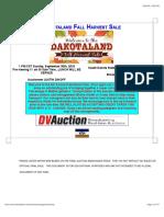 2018 DakotaLand Boer Goat Sale