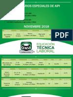Seminarios Especiales de Aipi Noviembre 2018