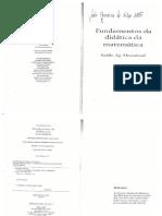 Almoud - Fundamentos Da Didática Da Matemática