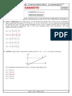 Gabarito Ae1 Matemática 3º Ano