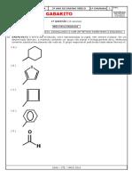 Gabarito Ae1 Química 3º Ano