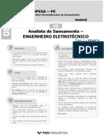 COMPESA2018 Analista de Saneamento - Engenheiro Eletrotecnico (NS-ELETEC) Tipo 1