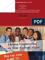 "ACEC ""Choose Engineering as Your College Major"" Brochure"