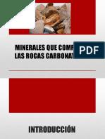 Minerales Que Componen Las Rocas Carbonáticas