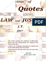 Collection of 200 Quotes About Law and Justice