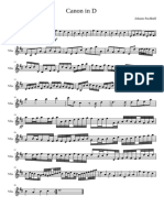 Canon in D (Pachelbel) - Violin Solo