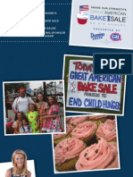 Share Our Strength's Great American Bake Sale Booklet