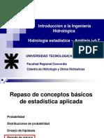 IH - Hidrología Estadística - Idf-2013- U4