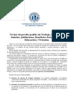 documento CGT