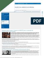 Relações Étnico-raciais No Brasil-UNESCO