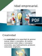 Creatividad empresarial