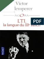 Lti La Langue Du III Me Reich