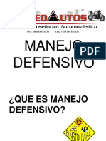 4.1 Manejo Defensivo