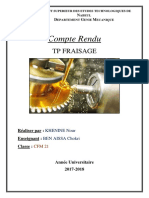 Compte Rendu Fraisage (Enregistré Automatiquement)
