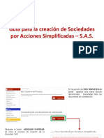 Manual Documento Privado s.a.s