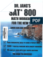 Dr.Chang's SAT 800 Math Workbook for the New SAT