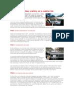 Los Cinco Sentidos en La Conducción
