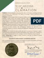2018 NDEAM Proclamation