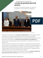 01-09-2018 Asiste Astudillo a Toma de Protesta de La 62 Legislatura de Guerrero.