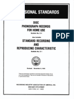 RIAA Vinyl Records Specification