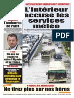 Journal Le Soir Dalgerie Du 19.09.2018