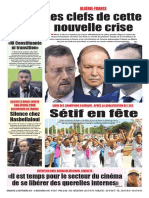 Journal Le Soir Dalgerie Du 23.09.2018(1)