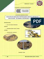 Accesorios de Perforación Rotopercutiva Mecanizada