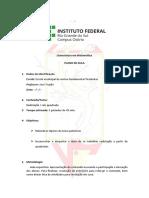 Plano de Aula - Fundamental - Radiciaçao - Raiz Quadrada