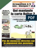 Journal Le Soir Dalgerie 11.09.2018