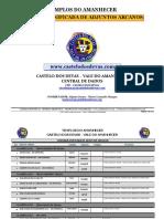 Chamada Oficial de Arcanos-Vale do Amanhecer 2018