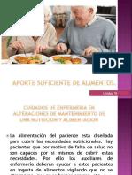 APORTE SUFICIENTE DE ALIMENTOS...pptx
