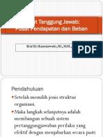 Pusat Pendapatan Dan Beban