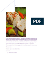Pan de Ají Amarillo y Ají Verde