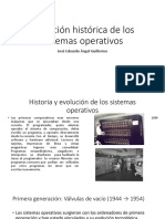 Evolución Historia