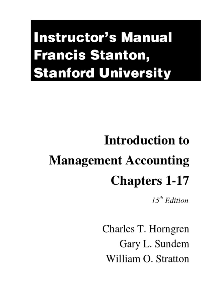 Download Solution Manual for Introduction to Management