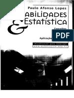 Probabilidade e Estatistica 2