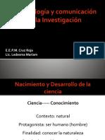Metodología y Comunicación de La Investigación
