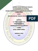 Monografia- Conservacion de Los Alimentos - Copia