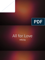 All for Love -Hillsong